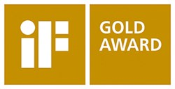 iF GOLD AWARD Since 1953 iF has been a capable and reputable provider of design services at the interface of desig...