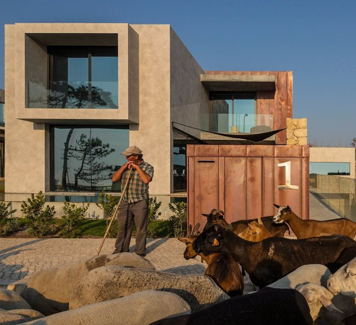 Felice Varini, Masquespacio, mode:lina, Neuman Hayner Architects