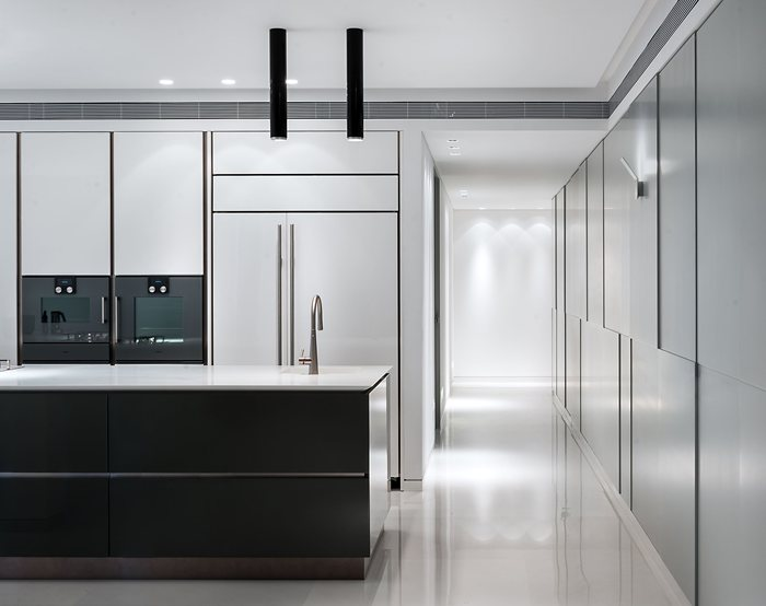 350 m² apartment in the Blue Project