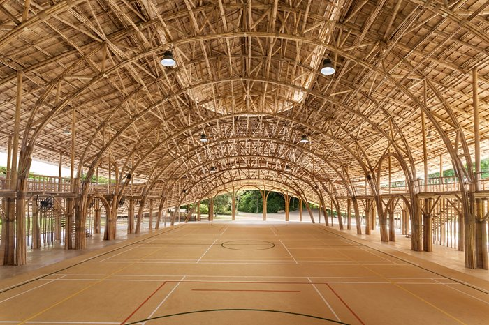 Bamboo Sports Hall for Panyaden International School