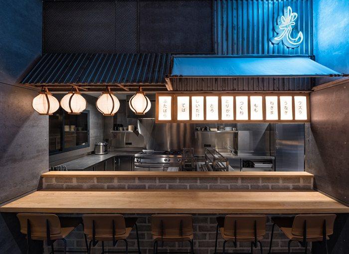 Hikari, Yakitori bar