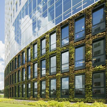 Green fa ades for Chambre de commerce francaise singapore