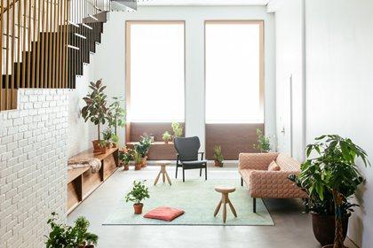 RUCHÈ | Leather sofa
