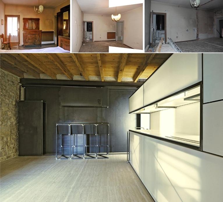 Prima e dopo la ristrutturazione for Incentivi ristrutturazione casa 2017