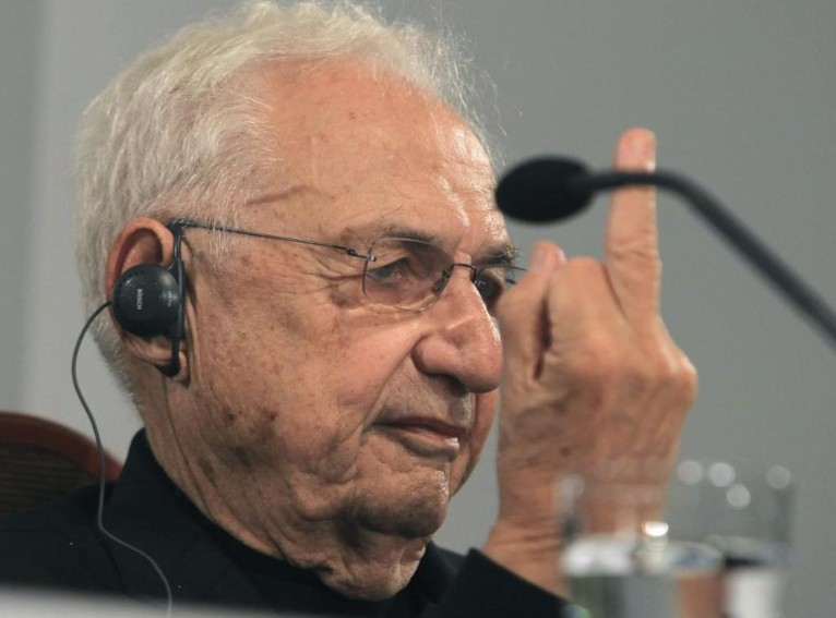 why is frank gehry so irreverent