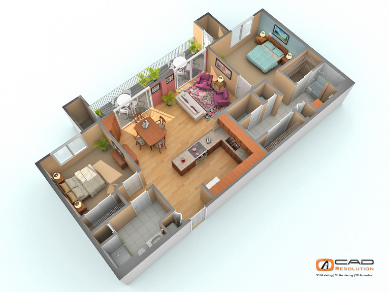 48D CAD Architecture House Plans Design Services Has Become Mainstream Gorgeous 2D Interior Design Exterior