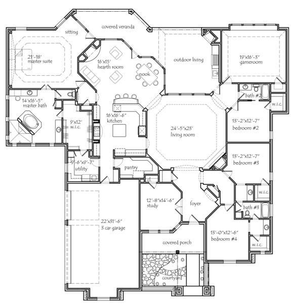 About house plans for House plans uk 5 bedrooms