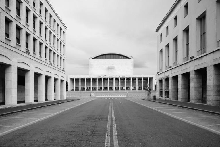 Architettura fascista non fascista - Architetto palazzo congressi roma ...