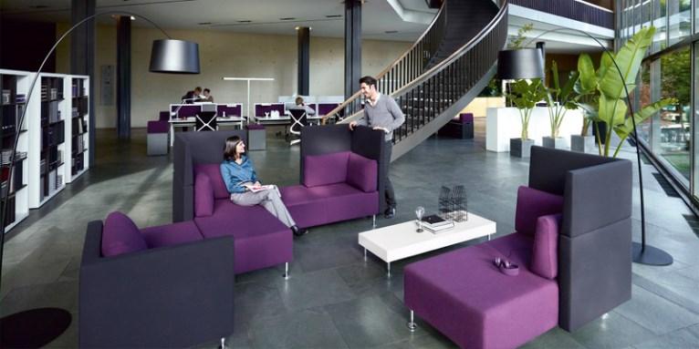 Gli spazi comuni negli uffici moderni for Uffici moderni