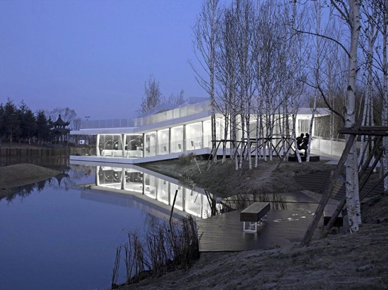 Riverside Clubhouse Tao Architects With More Than An Eye