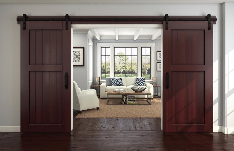 Design Trend Interior Sliding Barn Doors