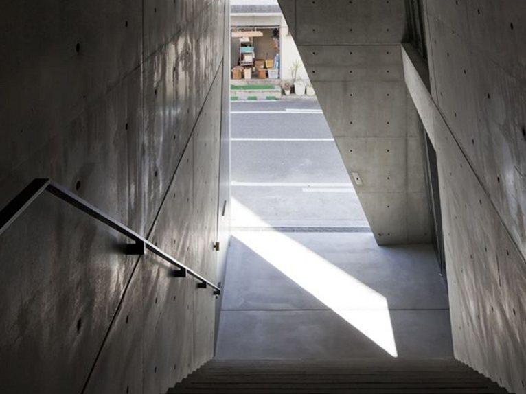Tadao Ando Kamigata Rakugo Association Hall