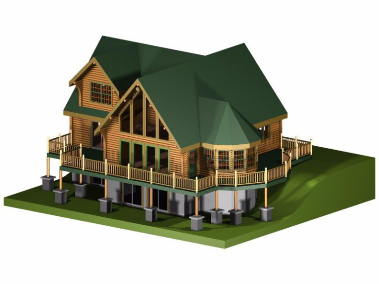 The beautiful world of cad 3d models architectural for Modelli cad 3d free