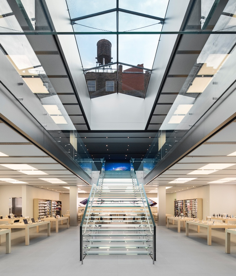 Apple wins the 2016 landmarks conservancy chairman 39 s award for Interior design building nyc