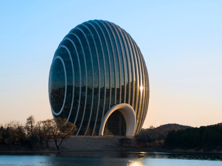 want to spend a night in china s latest architectural masterpiece