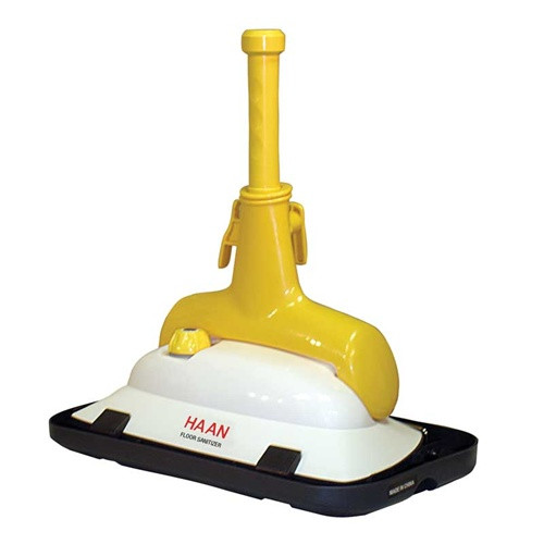 how to clean haan steam mop pads