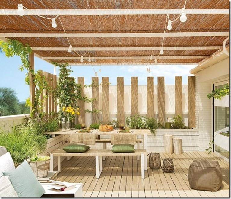 Scenografie estive for Arredare terrazzi piccoli