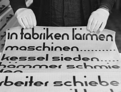 Lost typography from the Bauhaus masters re-created