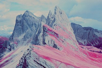 A trip on infrared film