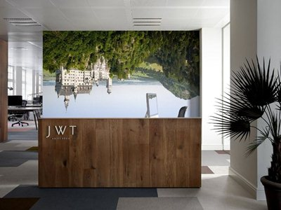 The new 'home' of the Advertising agency JWT in Amsterdam