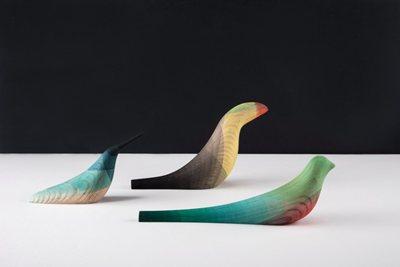 Immersed Birds: the simple elegance by Studio Moisés Hernández