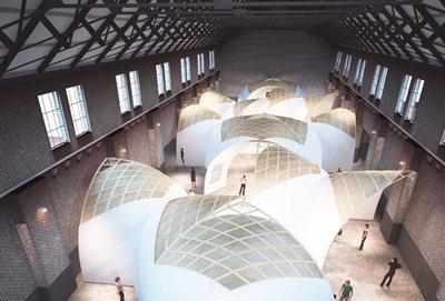 An Oxygen-shaped Pavilion for Unfair 2018