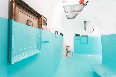 Antivegetativa: from a special paint to a space cut