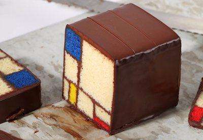 Modern Art Desserts: from Mondrian to Lichtenstein, let's taste!