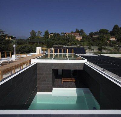 Casa a morchiuso studio di architettura marco - Piscina verano brianza ...