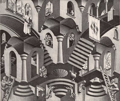 Double date with M.C. Escher