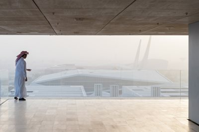 OMA's Qatar National Library  officially opened
