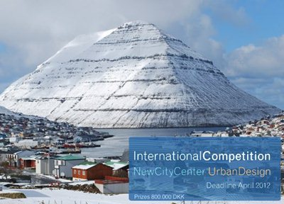 Open international design competition for Klaksvík town centre, in the Faroe Islands