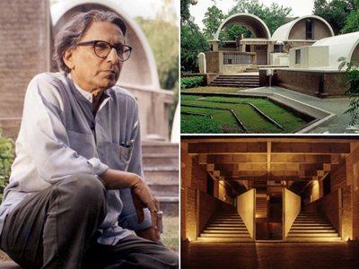 Balkrishna Doshi is the 2018 Pritzker Architecture Prize