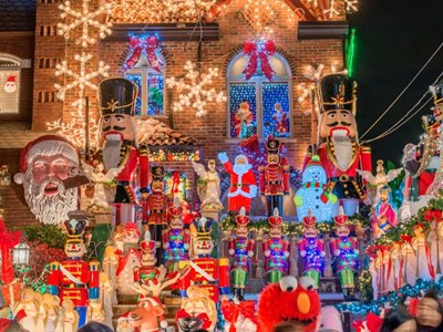 Have you seen the lights at Dyker Heights?