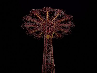 What happens in amusement parks when the lights go out?
