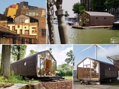 Wikkelhouse: innovative cardboard living and working space