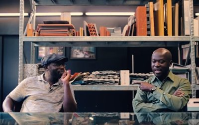 Music for Architecture: a vinyl collaboration between David Adjaye and his brother Peter