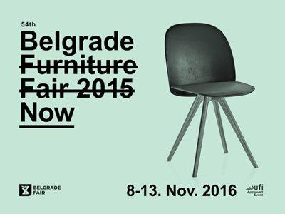 Furniture Design Now - 54th Belgrade Furniture Fair