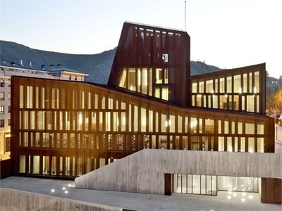OKE: the new home of Culture in Ortuella in the Basque Country