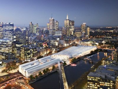 Flinders street station: Hassel + Herzog & de Meuron winners of the competition