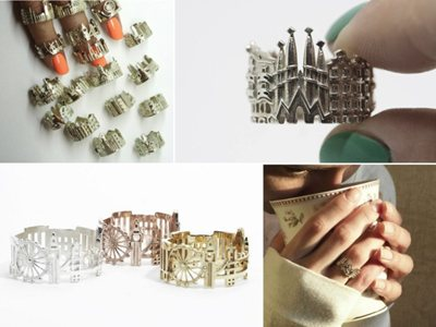 New Cityscapes Skyline rings: jewelry pieces or memory signs?