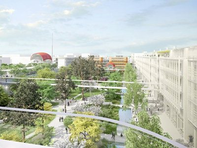 Renzo Piano designs a new campus near Paris