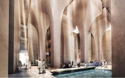 Foster + Partners wins the competition for a new luxury hotel in the heart of Makkah, Saudi Arabia