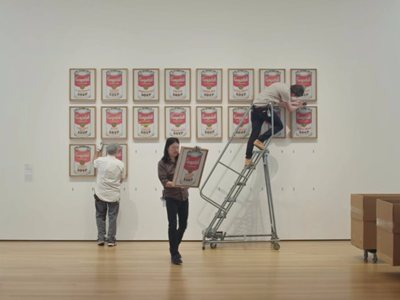 Behind the Scenes of MoMa