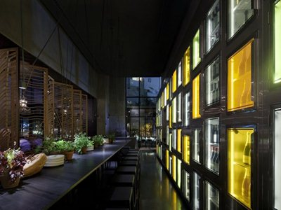 The 'Taizu' restaurant in Tel Aviv by Pitsou Kedem and Baranowitz-Amit