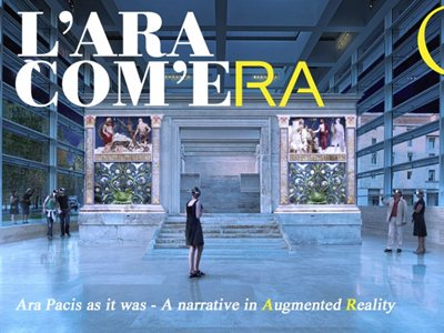 THE ARA AS IT WAS. A narrative in Augmented Reality