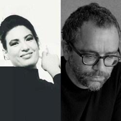 Gloria Valente e Vittorio Carofiglio