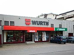 Wurth Punto Vendita Bovisio Masciago GRASS POINT