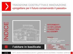 Tradizione costruttiva e innovazione