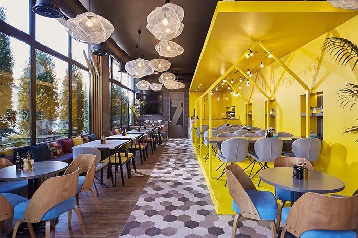 """Pizza restaurant """"Garden"""""""